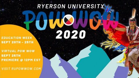 2020 Ryerson University Powwow Education Week